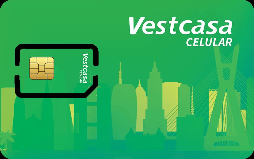 Chip Vestcasa Celular